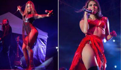 María León comparte erótica imagen y remarca su zona íntima para ganar seguidores