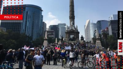 ¿Lago o aeropuerto? Arranca marcha contra cancelación de Naicm en Texcoco