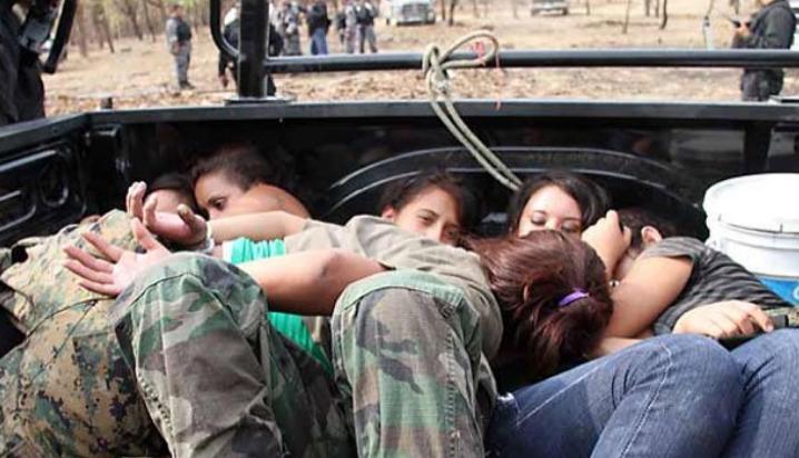 María Celeste: la hermosa niña sicaria al servicio de Los Zetas ...