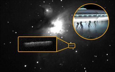 ¿Vienen a la Tierra? Descubren enorme ovni surcando la Nebulosa de Orión