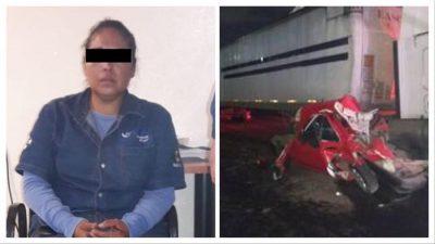Revelan identidad de la conductora que se quedó sin frenos en la México Toluca. Noticias en tiempo real