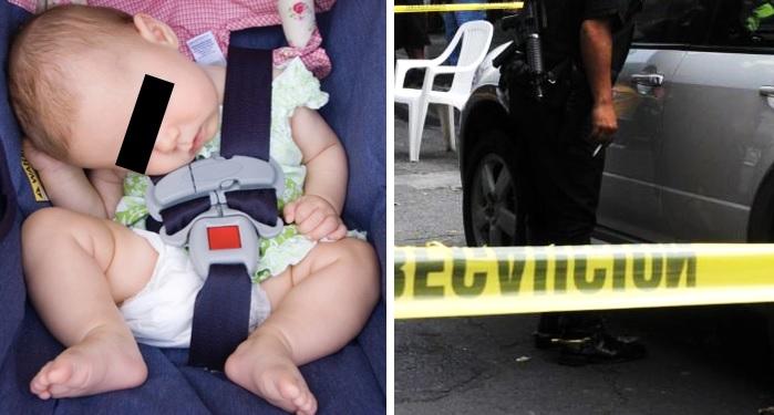 Estremece autopsia de bebé que murió olvidada en un auto por su papá