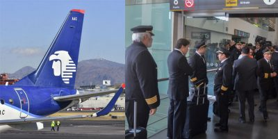 Aeroméxico anuncia que mandará a volar a trabajadores y ajustará presupuesto. Noticias en tiempo real