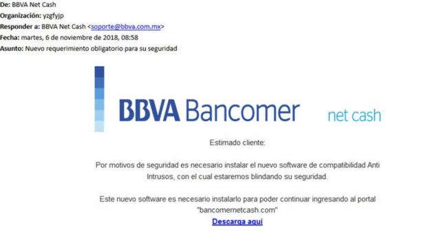 Primero el SAT, ahora Bancomer: advierten a clientes sobre correos apócrifos