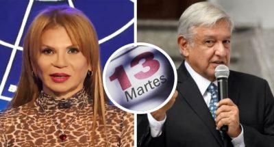 Mhoni Vidente advierte predicción sobre 13 de noviembre ¿en cumple de AMLO?. Noticias en tiempo real
