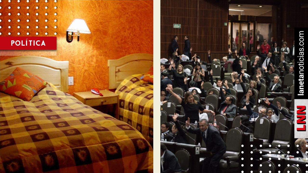 Diputados <i>se despiden</i> de hoteles VIP; se hospedarán en habitaciones de 500 pesos