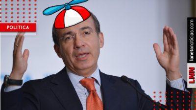 ¡Quiere llorar! A Calderón le entra Laura Sad y lamenta la pérdida de su pensión. Noticias en tiempo real