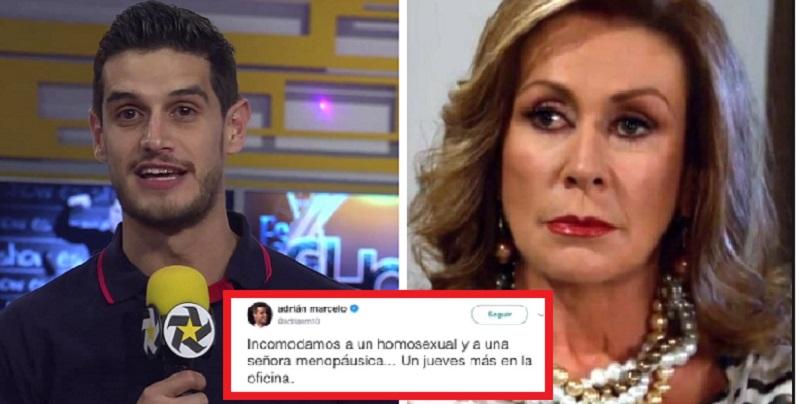 Despiden a conductor por humillar a Laura Zapata y a periodista en vivo