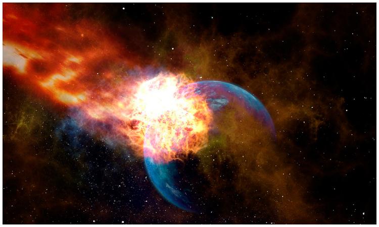 Monstruoso 'huracán' de materia oscura se aproxima a la Tierra