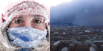 Tsunami de nieve cubre por completo ciudad rusa (VIDEO). Noticias en tiempo real