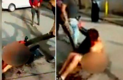 Vecinos detienen a palos a ladrón en Naucalpan (VIDEO). Noticias en tiempo real