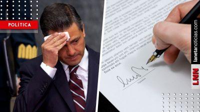 Peña dejó a AMLO 117 contratos más; se firmaron en los últimos días de gobierno. Noticias en tiempo real