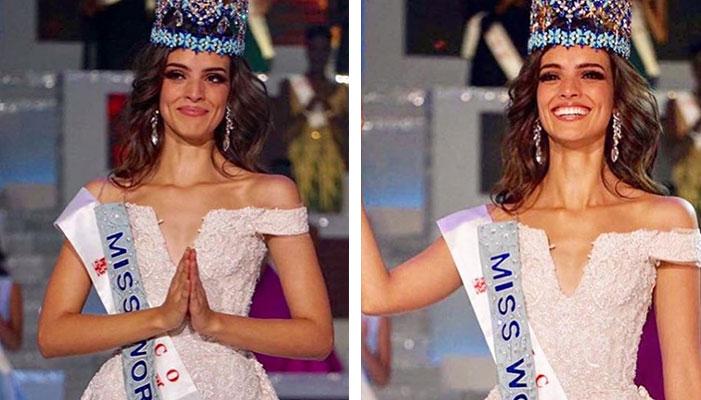 Orgullo mexicano: Vanessa Ponce se corona como la nueva Miss Mundo 2018