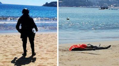 Mar de Acapulco devuelve cadáver: la foto que conmociona a internet
