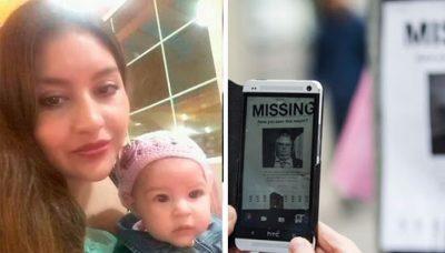 Estremece desaparición de madre junto a su bebé en misteriosas circunstancias