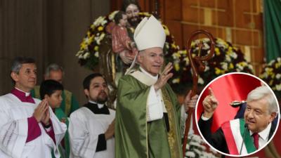 Vamos a colaborar sin complicidad con AMLO: Arquidiócesis de México