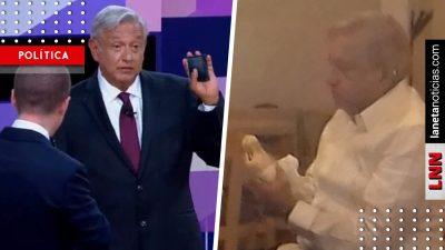 ¡Sin lujos! Captan a AMLO comiendo una torta en Yucatán y se hace viral