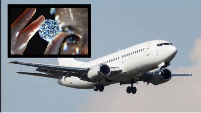 Bling 777: el avión tapizado de diamantes que genera controversia en redes