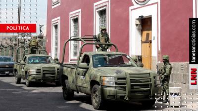 Guardia Nacional arranca operaciones en Puebla, Morelos y Guerrero