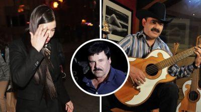 Captan a Emma Coronel muy sonriente con vocalista de Los Tucanes de Tijuana