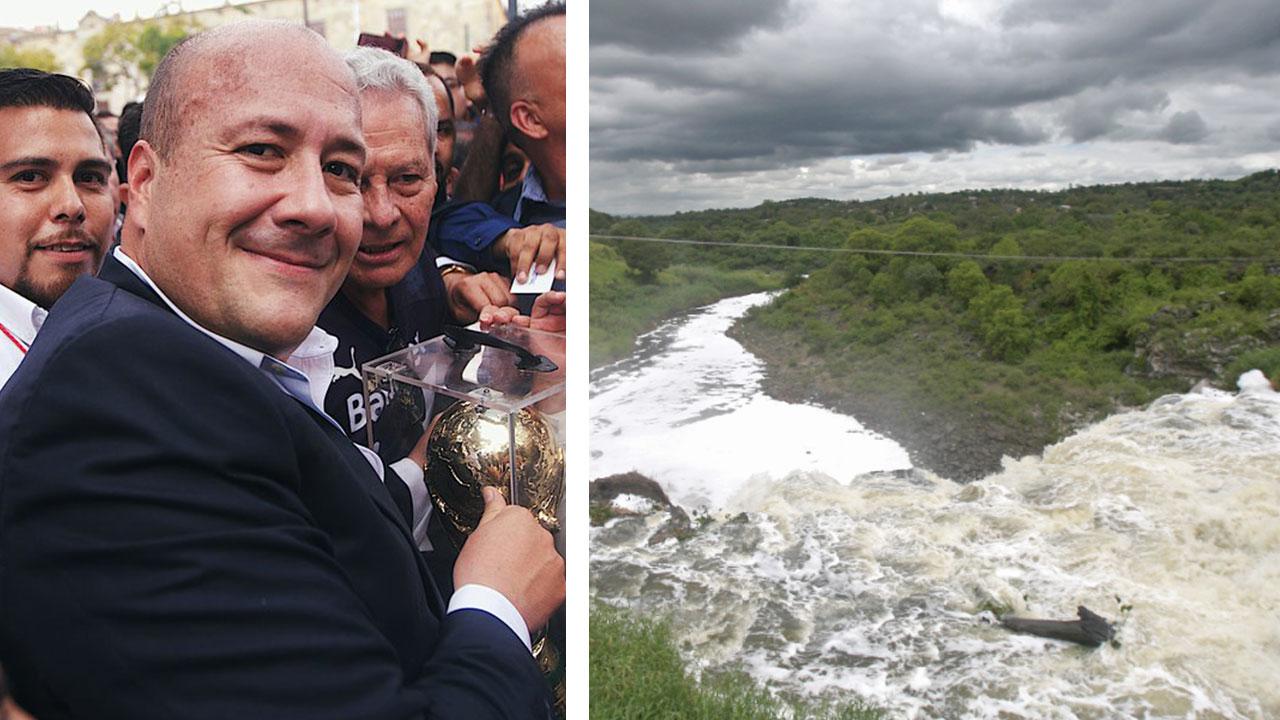 Enrique Alfaro destinará 3 mmdp para revertir contaminación en Río Santiago
