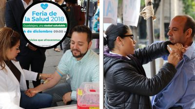 Inicia Feria de Salud en Guadalajara; se ofrecerán más de 20 servicios gratuitos