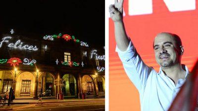 La Navidad llegó a Guadalajara: Ismael del Toro inaugura Navidades con Luz
