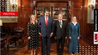 Maduro presume en redes su asistencia a la toma de posesión de AMLO