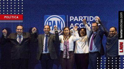 PAN respalda triunfo de Martha Erika en Puebla; confían en el Tribunal Electoral