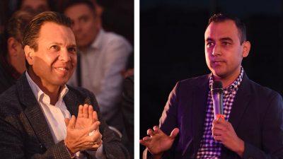 Pablo Lemus y Chuy Medina reiteran trabajo conjunto para proteger estudiantes