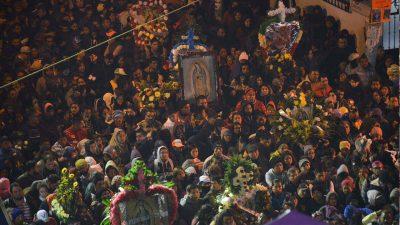 Peregrinación a la Basílica de Guadalupe, un recorrido lleno de esperanza y fe