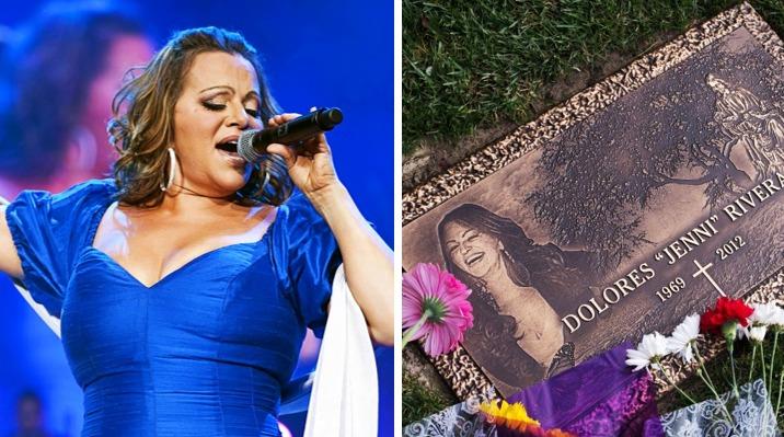 Madre de Jenni Rivera hace increíble hallazgo en tumba de la Diva de la Banda