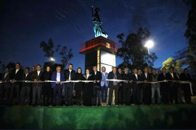 Antes de dejar el gobierno de Puebla, Tony Gali inaugura La Victoria