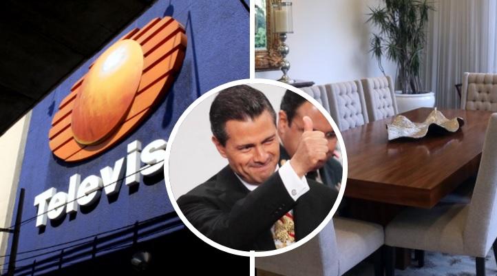 Televisa destapa la verdad del saqueo de Peña Nieto en Los Pinos