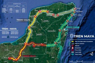 Empresas ferroviarias de Italia se interesan en la construcción del Tren Maya