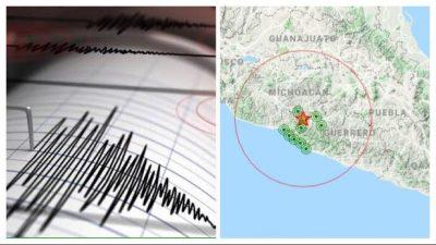 Alerta: reportan sismo de 4.7 grados en Michoacán
