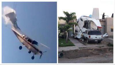 ¡Impresionante! Graban momento en que una avioneta se desploma (VIDEO)