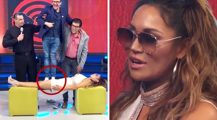 Mauricio Mancera humilla a 'JLo' pisoteándole parte íntima en Hoy