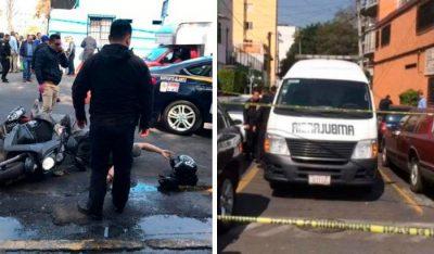 Matan a rata y dos más resultan heridos tras balacera en CDMX
