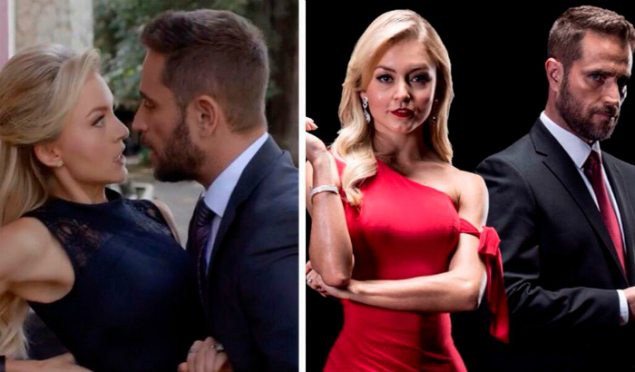Angelique Boyer y Michel Brown elevan la temperatura con descarada escena íntima