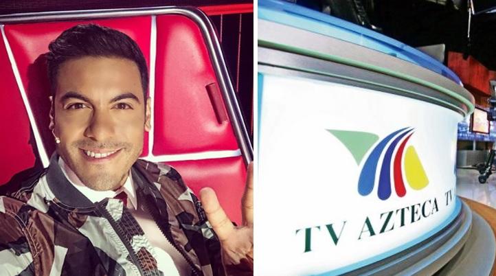 Carlos Rivera traicionaría a Televisa por polémica grabación para TV Azteca