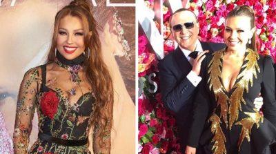 Thalía sorprende al revelar íntimo secreto de su relación con Tommy Mottola