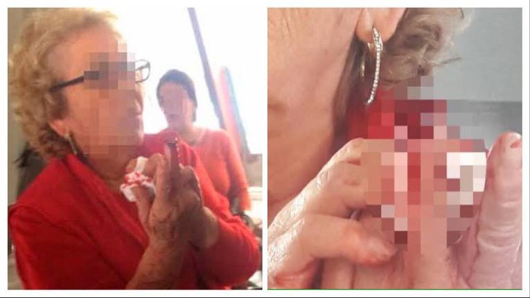 Sexo en vivo por internet anciana