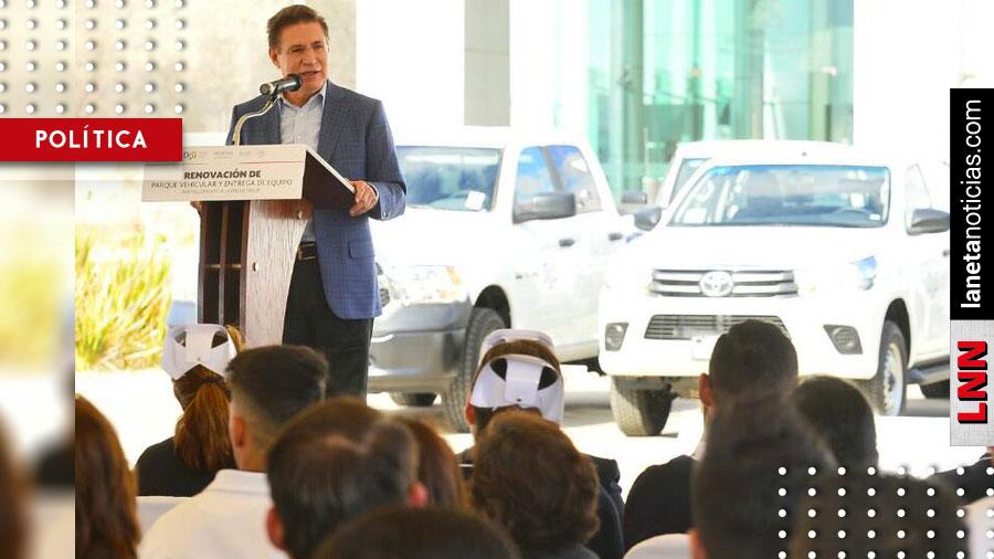 José Rosas Aispuro destina 13 millones para fortalecer al sector salud en Durango