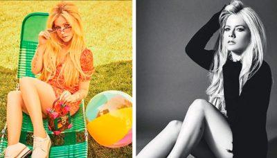 Avril Lavigne publica libidinosa foto sin pudor y se desnuda (FOTO)