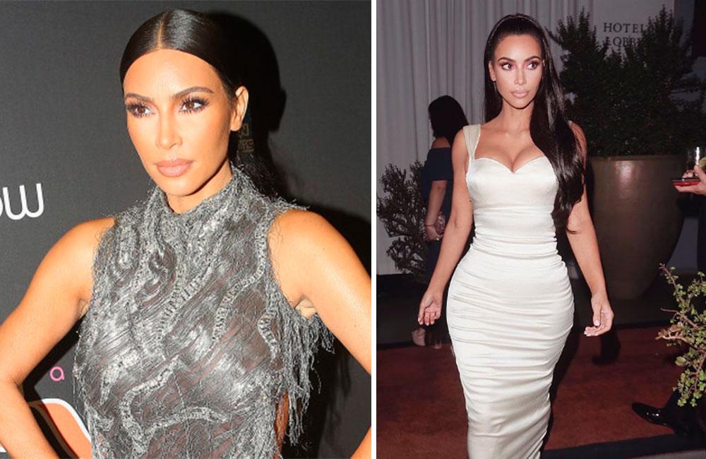 Al ráiz: Kim Kardashian sufre erótico descuido y enseña de más (FOTO)