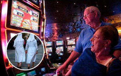 Monjas usurpan medio millón de dólares para apostarlo en Las Vegas