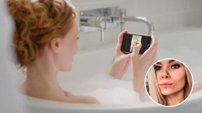 Rusa muere electrocutada mientras se bañaba; se le cayó el celular a la tina