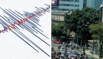 Reportan sismo con epicentro en Álvaro Obregón que sorprende a la CDMX