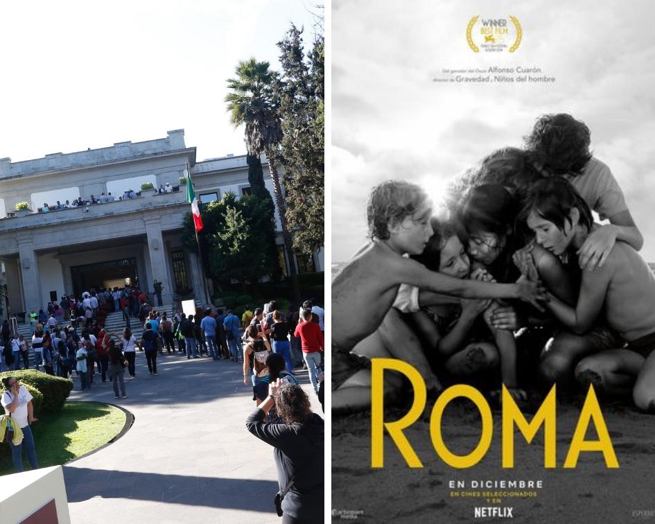 ¿Quieres ver Roma, de Alfonso Cuarón? En Los Pinos se exhibirá gratis